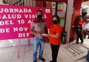 Con éxito se llevó a cabo la Jornada de Salud Visual en el DIF Huatusco.