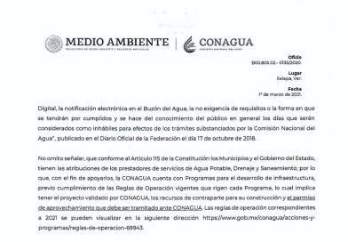 Autoridades de Comapa explican a vecinos de San Francisco Nacaxtle, el por qué no se puede realizar la obra.