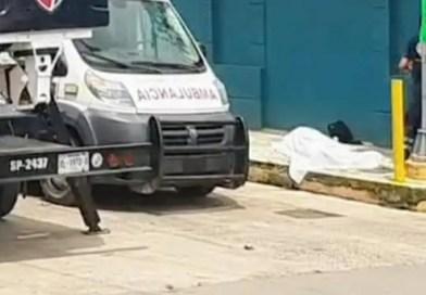 OPERADOR DE C4 MUERE ELECTROCUTADO