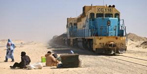 Mauritánská železnice: Extrémní jízda napříč Saharou