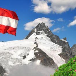 Rakousko na sněhu a pod oblaky