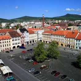 Litoměřické náměstí plné historie a zajímavých domů