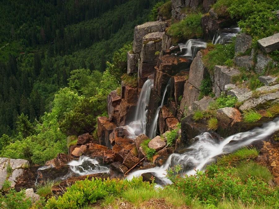 Nejkrásnější české vodopády