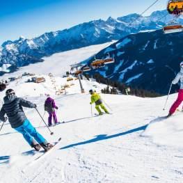 Rakousko: Lyžování v bílém ráji