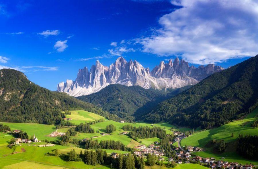 Itálie: Slunečné svahy Dolomit