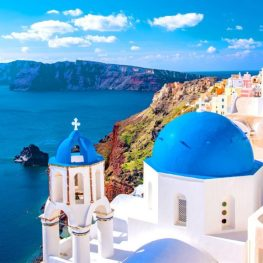 Pestrobarevné Santorini je ostrovem zázraků