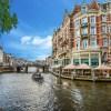 Rozkvetlý Amsterdam