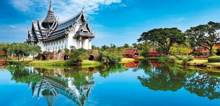 Bangkok, velkoměsto na vodě