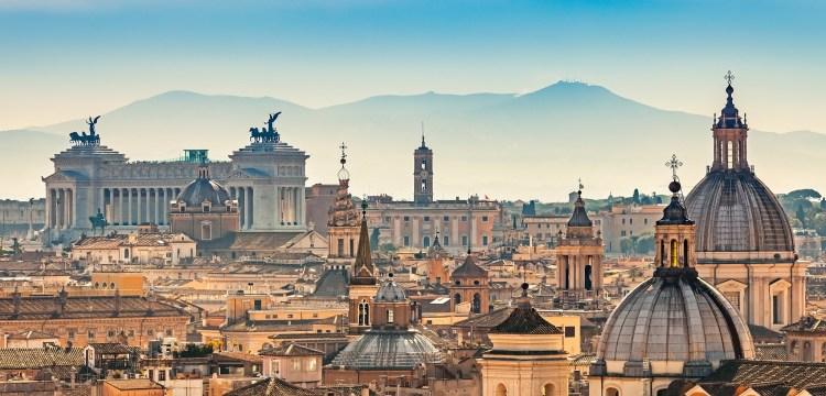 Všechny krásy Říma