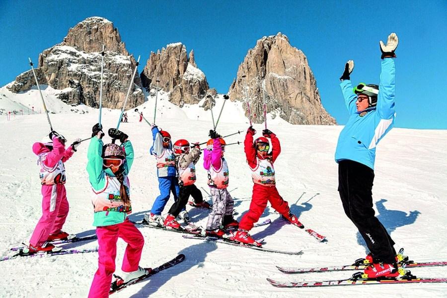 Zasněžené Trentino má italský šarm