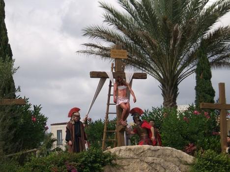 Holy Land Experience v Orlandu: Ukřižování, každý den kromě neděle