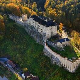 Český Šternberk: Romantické sídlo shvězdou ve jméně