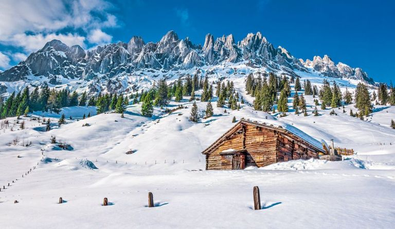 Rakousko: Půvab zasněžených velehor