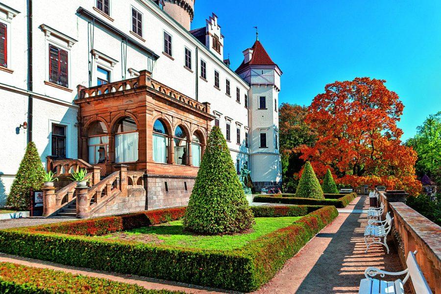 Zámek Konopiště: Rezidence milovníka pokroku a vyhlášeného krále střelců