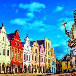 Historické jádro Telče: Město s pohádkovým náměstím