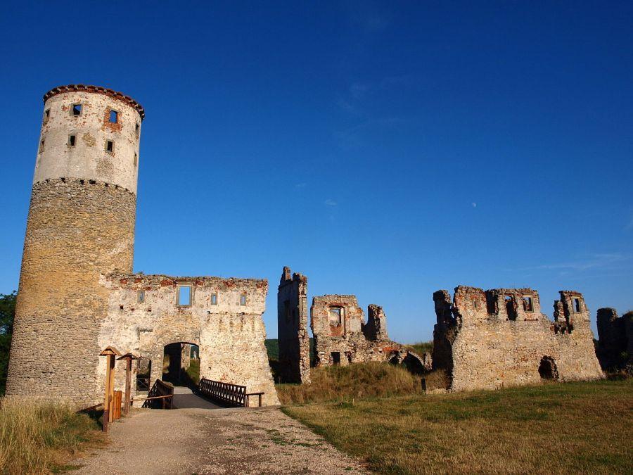 Zvířetice: Blesk určil osud hradu