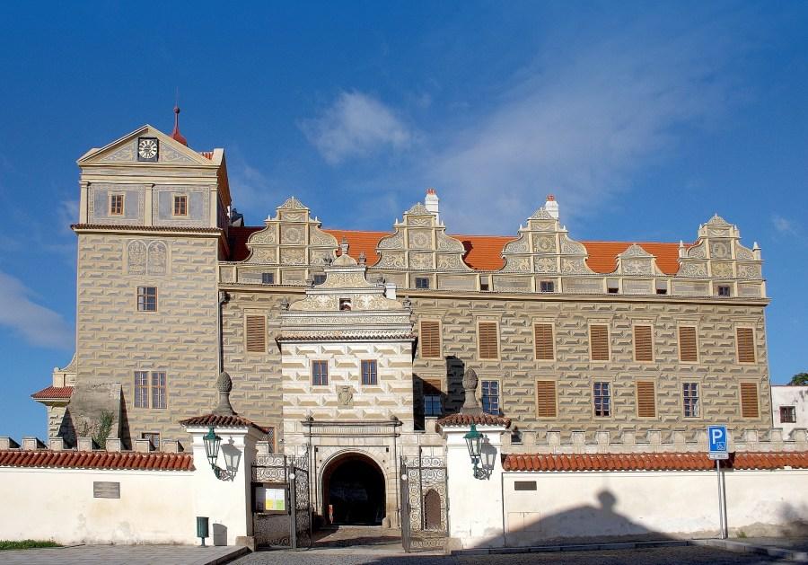 Zámek a rozhledna v Horšovském Týně