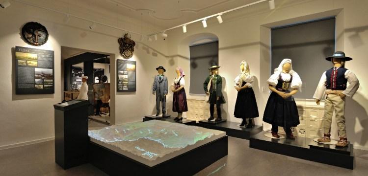 Stálé expozice muzea Beskyd