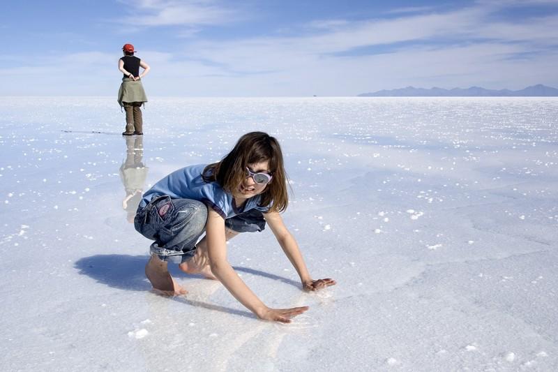 Bolívie: Solná pláň o velikosti středních Čech