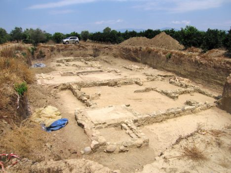 Do dnešních dnů se z něj dochovaly jenom trosky v hledáčku archeologů.