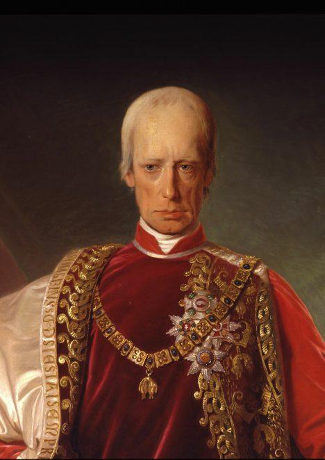 Častým hostem zahradních slavností se stává i rakouský císař František I.