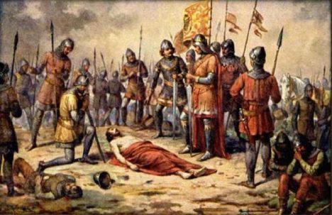 Když český král v roce 1278 zemře v bitva na Moravském poli, jeho mrtvola je několik týdnů vystavena pro veřejnost.