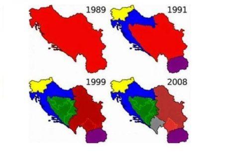 04 - Rozpad Jugoslávie na přelomu 20. a 21. století