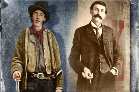 Billy Kid a Patt Garrett.