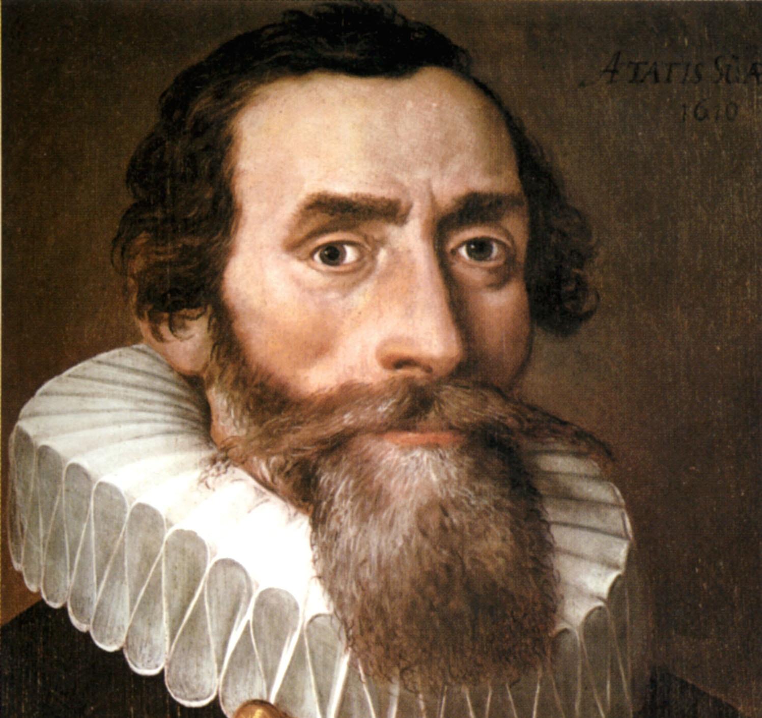 Johannes Kepler Kopie eines verlorengegangenen Originals von 1610