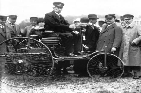 Carl Benz v roce 1925.