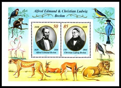 Afred Edmund Brehm a jeho otec Christian Ludwig Brehm byli nadšenými zoology. Alfred ve své knize popsal tajemné monstrum ze Sibiře.