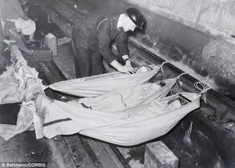 Za druhé světové války metro posloužilo jako úkryt před německými bombami.