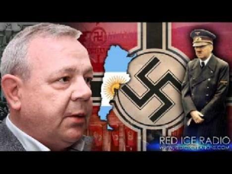 Podle Gerrarda Williamse Hitler a Braun utekli do Argentiny.