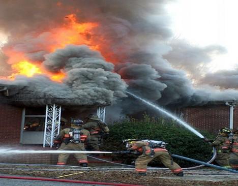 Tenhle požár byl divoký.