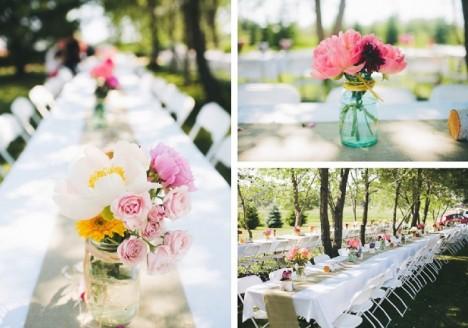 Na www.pinterest.com najdete spoustu praktických rad, jak si doma vyrobit dekorace právě na svatbu.