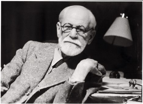 In this photo released by the Sigmund Freud Museum in Vienna former Austrian psychoanalyst Sigmund Freud is pictured in his working room in 1938. Austria and the world will be celebrating Sigmund Freud's 150th birthday on Saturday May 6, 2006. (AP Photo/Sigmund Freud Museum)