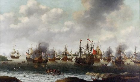 Dutch Attack on the Medway, June 1667