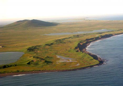 2 - Ostrov svatého Pavla v Beringově moři - poslední útočiště mamutů