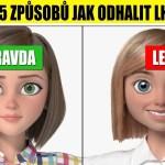 VIDEO: TOP 5 triků, jak poznat lháře