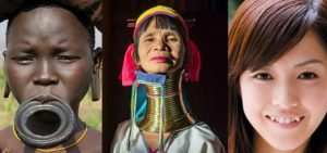Ideál krásy napříč kontinenty aneb žirafí ženy
