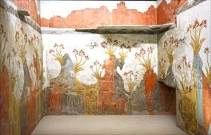 Přehodnocení dávné katastrofy: Minojská civilizace přežila výbuch sopky