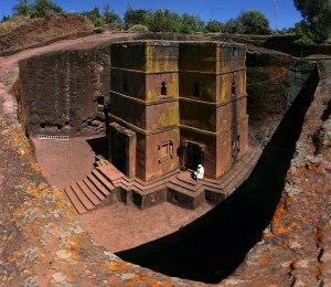 Lalibela: Kostely zrozené ze skály