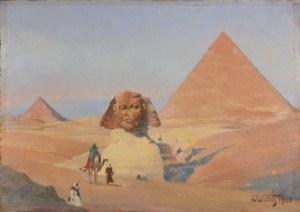 Češi v Egyptě: Zapomenutý malíř zdobil muslimské mešity