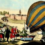 Otec balonového létání se v Praze málem zřítil