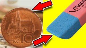 Tajné funkce věcí denní potřeby: Na co je modrá část gumy?