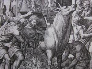 Perillos z Athén se stal obětí vlastní mučící hračky