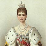 Skromná žena v mušelínu: Ruská carevna Alexandra Fjodorovna nosila svoje šaty několik let