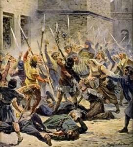 Impuls k husitským válkám: Radní pražského Nového Města vyletěli z okna