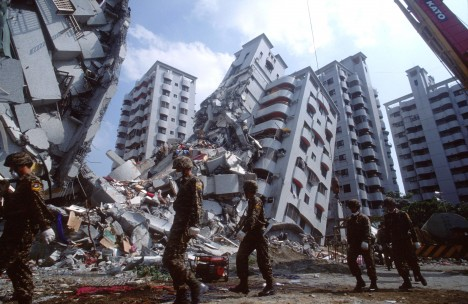 Taiwan Earthquake Kills Thousands