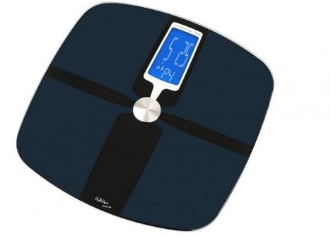 """Díky tomu, že váhy """"mají paměť"""" se můžete vážit celá rodina. Stačí nastavit svůj profil."""